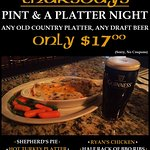 Maybe the best dinner special in Chester County includes a pint of your favorite brew!!!