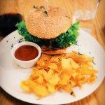 Avocado's burger