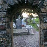 Aghadoe Church doorway