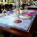 Our Tiled Tables