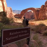Rainbow Bridge hike.