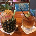 La Pina and Duke's Mai Tai
