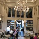 The salon de thé - unchanged for at least a century