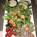 House Salad with Goat Cheese Dressing