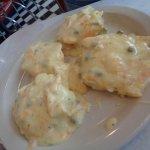 Chicken and biscuits - excellent