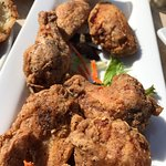 Salt and pepper wings, Osborne Bay Pub 1534 Joan Avenue, Crofton, British Columbia
