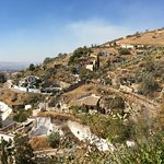 The view from the caves in Sacromonte