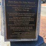 Kunta Kinte Plaque in Annapolis, Maryland at the city dock where it has been reported to be wher
