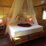 Flycatcher Bamboo Cabin, queensize bed