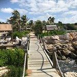 walk way to Bibi island