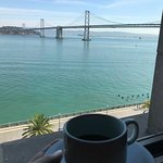 Waking up to Bay Bridge view