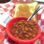 Toast and Beans, Dyer's Bar-b-Que, Amraillo, Texas