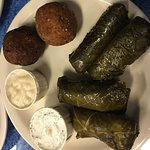 Grape Leaves & Falafel