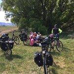 Picnic lunch along the Otago Rail Trail