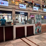 The Cinnabon counter and outlet at DLF Promenade