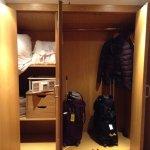 The closet and safe