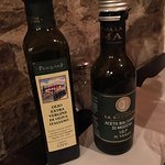 olive oil and balsamic vinegar