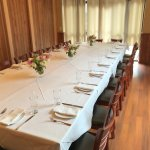Our private dining space seats 35-40 guests, & the entire restaurant can host up to 100