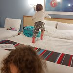 The bed was certainly toddler-tested... :-)