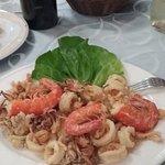 Sea food selection