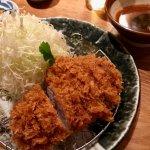 tonkatsu at Katsukura in Teramachi