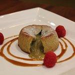 Pistacchio lava cake