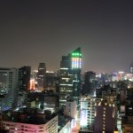 Kaohsiung at night, from the Howard