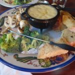 Cheese Fondue....loved it.......