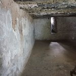 Slave chamber were slaves were kept before sold