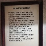 Slave chamber information in a flame at the wall