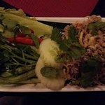 Larb Moo (minced pork salad)
