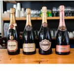 We have a range of local MCC and imported Italian and French Champagne in stock at all times