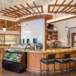 24/7 dining options with bakery and snack items