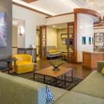 Fresh and bright lobby area