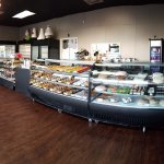 Custom-decorated cakes & delicious baked goods fill our showcases!