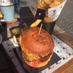 Tasty fries and the Silverton burger