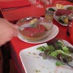 Préparation du tartare devant chaque client