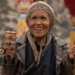 Happy Nepali lady