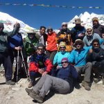 Trekking charity challenge
