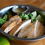 Quinoa Lime Chicken Bowl at Bread Head Bistro