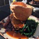 Roast Lamb and tasty veg. - yum