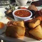 Full Irish breakfast=delicious
