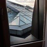 Blick aus dem einzigen Fenster