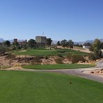 The 17th Hole - from the tee - Palm Course