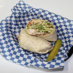 Chicken Caesar Wrap @ the Guaranty Café