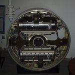 Minuteman II guidance system cut away