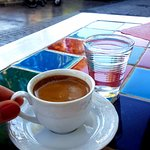turkish coffe for extra payment (7TL)