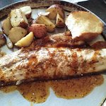 Baked redfish-a wonderful treat