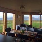 View from kitchen of Scapa Flow and Hoy
