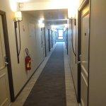 Couloir accés aux chambres